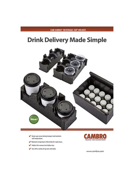 Cam Gobox® Beverage Cup Holder (PDF Only)