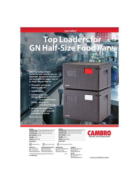 EPP GN Half Size GoBox