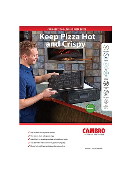 Cam GoBox Pizza Boxes
