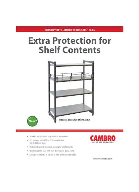 Elements Shelf Rails