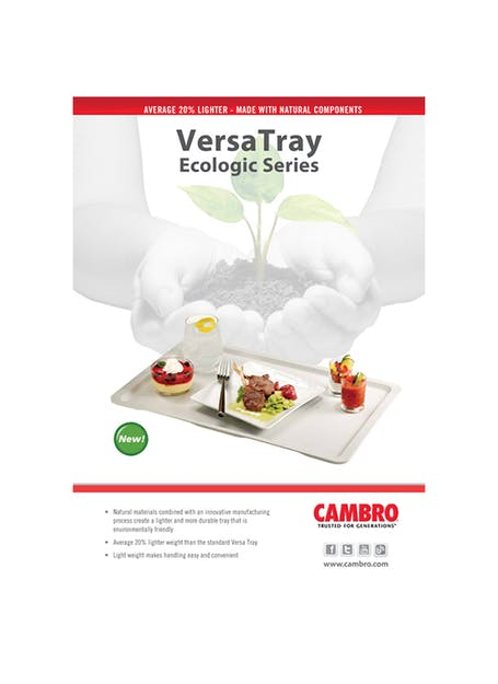 Versa Ecologic Tray