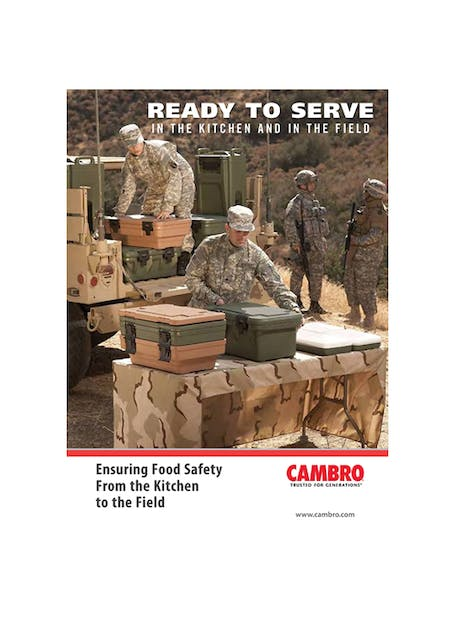 Ready to Serve Military Brochure