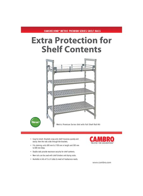 MP Shelf Rails