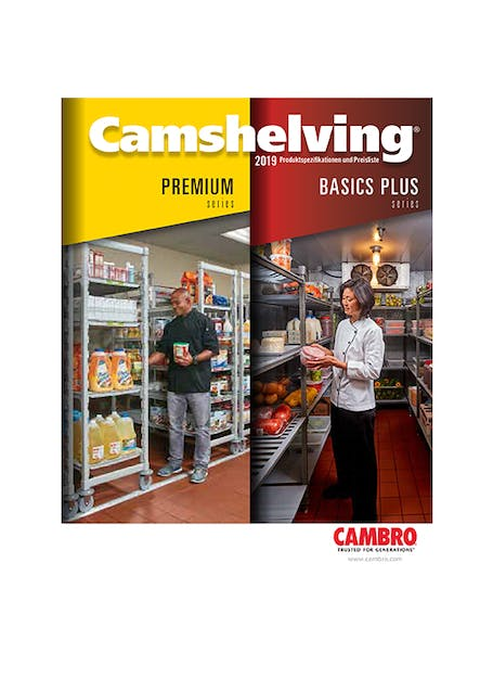 Camshelving Spec and Price List