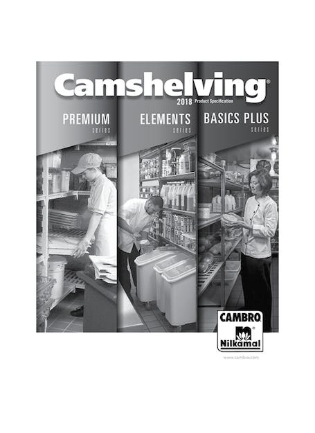 MP Camshelving Spec Book