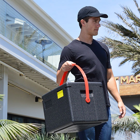 GoBox® Half-size Top Loader with Carrying Strap