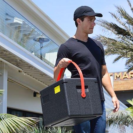 Cam Gobox® Yarim Boy, Üstten Yüklemeli Taşiyici-Taşima Kayişi İle Birlikte