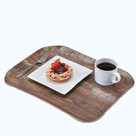 CENTURY WOOD GRAIN TRAYS
