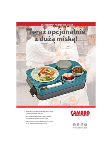 Tablotherm Meal Delivery System