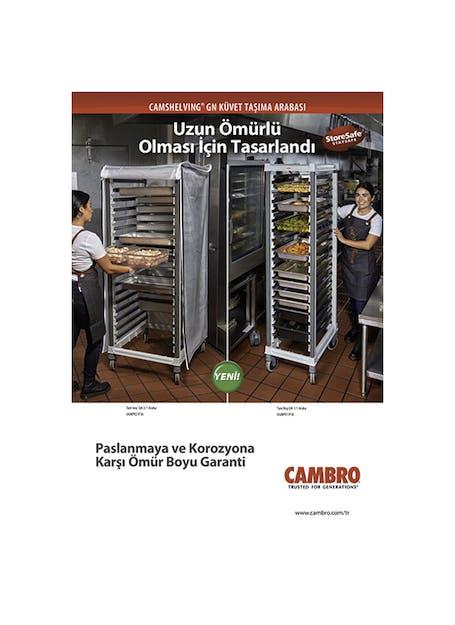 Camshelving GN Food Pan Trolley